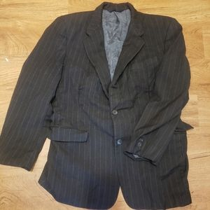 Burberry limited edition Learbury suit coat sz 40R
